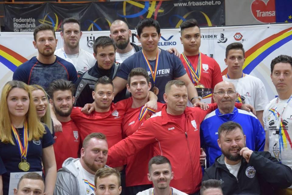 """Powerlifting: Șase titluri de """"campion național"""" și un record, obținute de sportivii din Alba Iulia"""